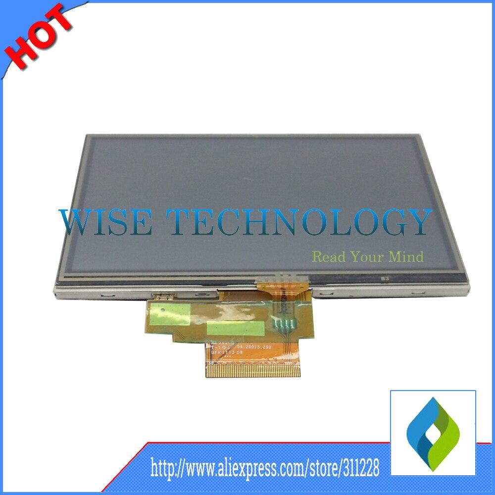 NUEVO Tomtom VIA 4EN52 Z1230 vida de pantalla LCD Pantalla Táctil Digitalizador Cristal