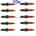 10 x 3-Electrode Spark Plugs D8TC D8TJC 12mm CG125 150 175 200 JH125 JH145 GS125 QM125 CB250RS XL250 SR125 WY125 HJ125 NEW
