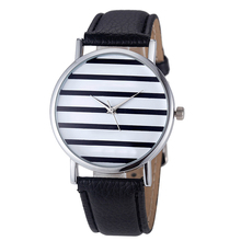 New Women Mens Watches Striped Anchor Dial Sports Top Brand Luxury Men Watches Women Lovers Leather Quartz Casual Lady Dress M4