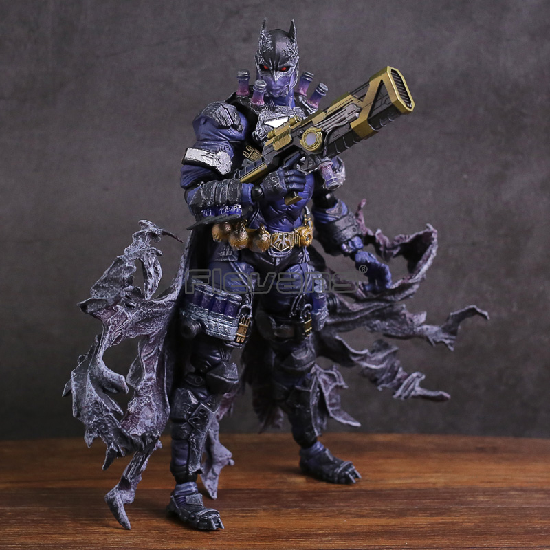 Variant Play Arts Kai DC COMICS Batman Rogues Gallery Mr. Freeze PVC Action Figure Collectible Model Toy gogues gallery two face batman figure batman play arts kai play art kai pvc action figure bat man bruce wayne 26cm doll toy