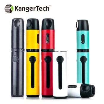 KangerTech – Kit de démarrage AKD K-PIN avec Li 2000mAh, réservoir d'atomiseur 4ml, bobine SSOCC SS 0.2 ohm-rouge