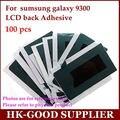 Alta calidad 100 unids/lote para Samsung Galaxy S3 I9300 Lcd reparación de la pantalla volver pegamento adhesivo pegatina de gaza cinta adhesiva
