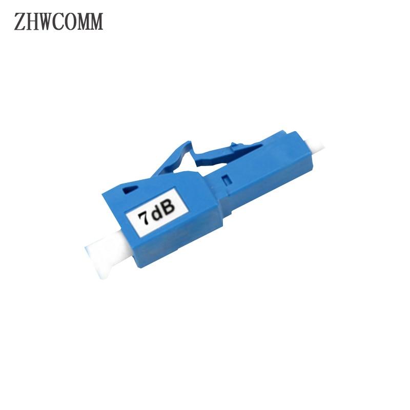 ZHWCOMM 10PCS/bag LC 7db Fiber Optical Attenuator LC/UPC Female to Male fiber optic adapter Free shipping