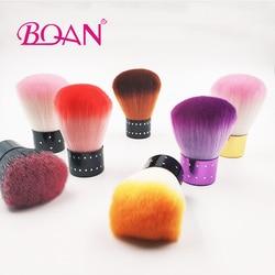 BQAN Nail Art poussière propre brosse visage poudre brosse Nail Art Kabuki brosse professionnelle Kabuki brosse