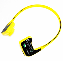 NUEVA IPX68 Impermeable Hueso Conducta 8 GB Auriculares Reproductor de Música Mp3 Flac APE Deportes Auriculares Estéreo 10 m Submarinismo natación