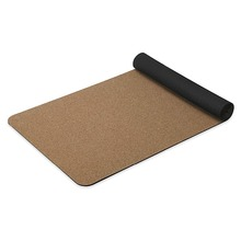 Cork TPE Yoga Mat Non Slip TPE Yoga Mats 4mm Pilates Pad Sports Cork Yoga Mat Thick 6mm Eco-Friendly Tasteless Training Mat
