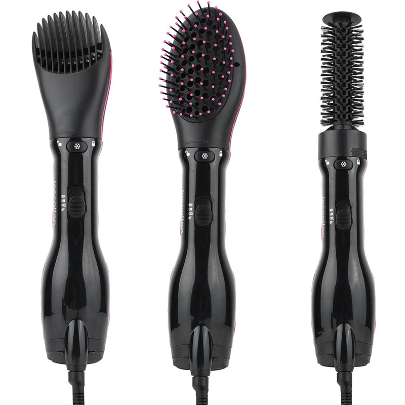 Hair Curler Dryer Comb Curling Drying Function 3 in 1 Comb Multifunctional Styling Salon Tool Sets Hairdryer braun 3in1 multifunctional hair styling tool hairdryer hair curler hair dryer blow dryer comb brush hairbrush professional as720
