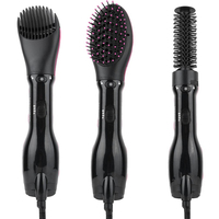 Hair Curler Dryer Comb Curling Drying Function 3 in 1 Comb Multifunctional Styling Salon Tool Sets Hairdryer