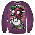 2016 Newest Cheap Hoodies 3D Printed Tacos Cartoon Funny Style hoodies 3D Printing Fashion style Plus Size