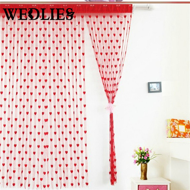 Window Curtain Printed Tulle Voile Door Sheer Curtain Panel Window Curtain New Drop String Tassel Divider  sc 1 st  AliExpress.com & Window Curtain Printed Tulle Voile Door Sheer Curtain Panel Window ...