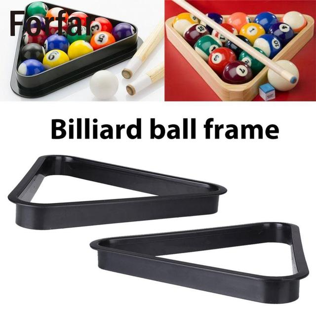 Forfar Billiards Ball Frame Tripod Snooker Pool Table Standard Rack Accessories