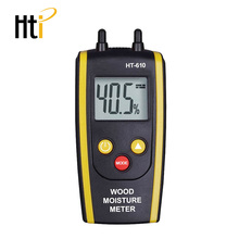 Wood Moisture Meter Digital Moisture Detector Moisture Tester Pin-Type Water Leak Detector Damp Tester Dampness Meter