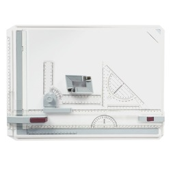 A3 portátil desenho placa de pintura esboço placa com réguas paralelas clipes de canto cabeça-bloqueio ajustável ângulo arte desenhar ferramentas
