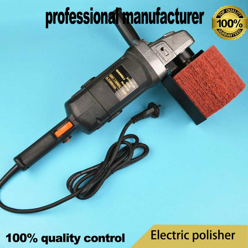 fashion electric polisher tools for S-steel surface polishing Stainless Steel Wire Drawing Machine Mirror Polishing