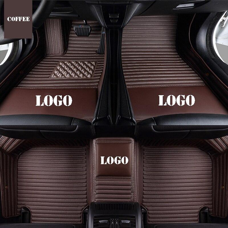 Logo personnalisé tapis de sol de voiture pour CHANA CS95 CS35 Alsvin Benni CX20 CX30 CS75 CS15 CS55 auto accessoires voiture tapis