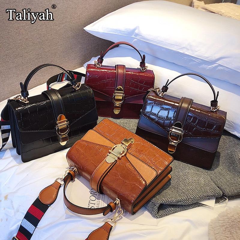Luxury Famous Brand Shoulder Bags Female Handbag Women PU Leather Messenger Crossbody Bags For Women 2019 Fashion Party Clutch
