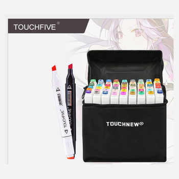 TouchFIVE 30/40/60/80/168 Color Art Markers Set Dual Headed Artist Sketch Oily Alcohol based markers For Animation Marker pen - DISCOUNT ITEM  0% OFF All Category