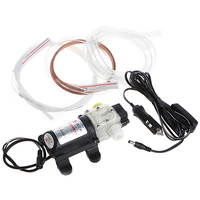 12V 45W Car Electric Oil Diesel Fuel Extractor Transfer Pump With Cigarette Lighter 1 Set