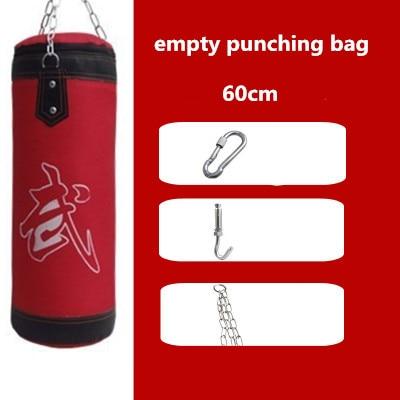 9ad892eeb 60 cm Idade 5 16 Anos de Idade das Crianças saco De Pancadas saco de Areia  Vazio para o boxe saco De Boxe Esportes Indoor Earthbags bagwork em Saco de  ...