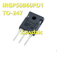 2PCS IRGP50B60PD1 TO-3P IRGP50B60 TO-247 GP50B60PD1 New and original g30h603 igw30n60h3 to 247