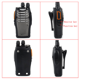 Image 4 - 100% orijinal Baofeng A5 iki yönlü telsiz 5W 16CH Video Walkie Talkie BF A5 FM Transerivern Woki Toki