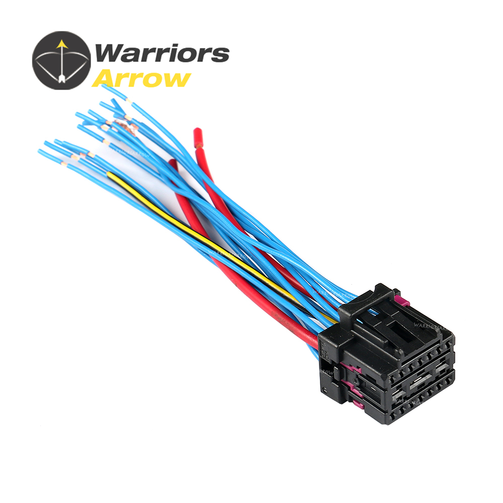 4F0972483 For <font><b>Audi</b></font> A4 B8 A5 A6 C7 Q3 Q5 For VW Golf Passat Touareg Octavia 17 Pin Electric Plug Connector Wiring Harness Cable image