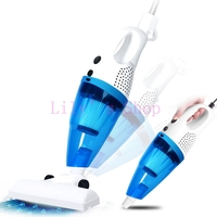 Ultra Quiet Mini Home Use Hand Push Vacuum Cleaner Portable Dust Collector Catcher Putter Sweeper Household