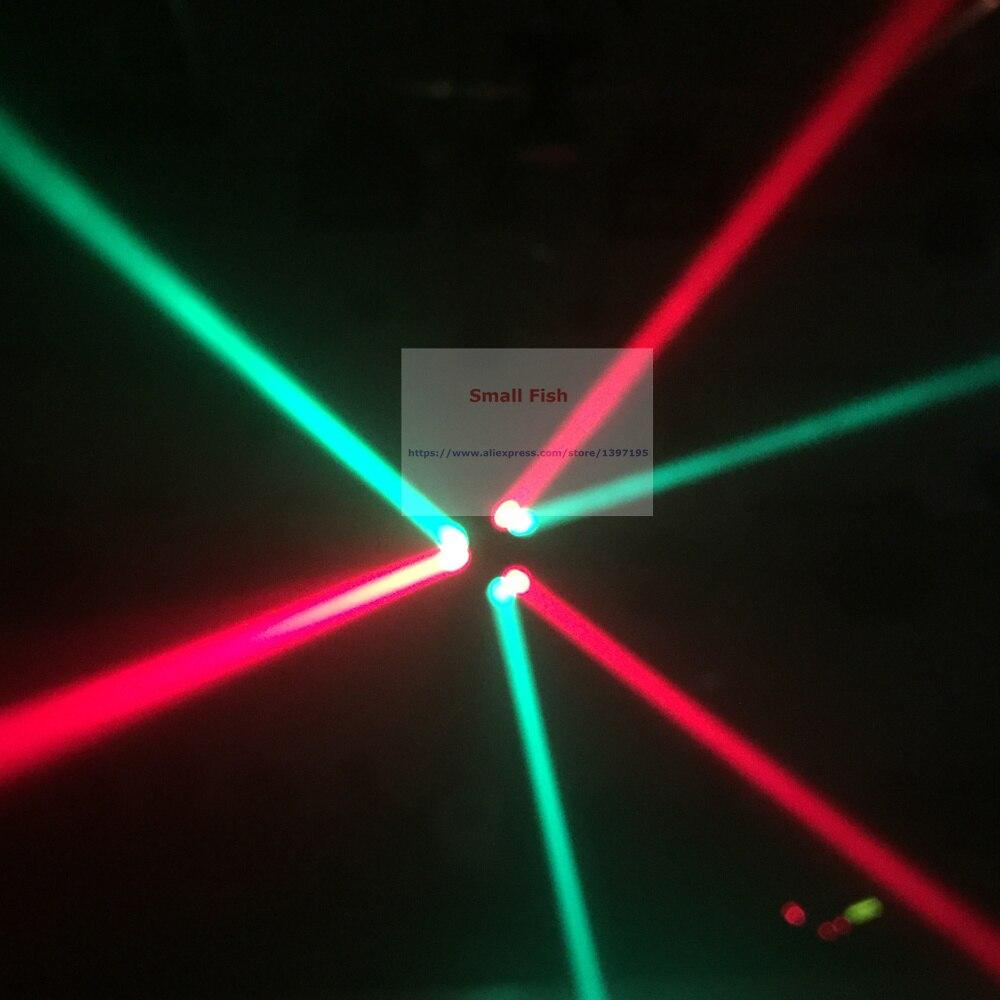 mini aranha led 9x3 w rgb luzes