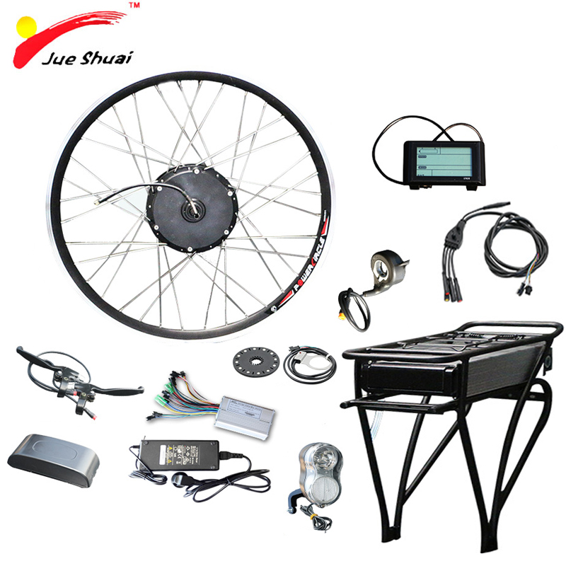 48v Electric Bike Kit With Lithium Battery 48v 12ah14ah Rear Rack