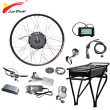 48V Electric Bike Kit with Lithium Battery 12ah/14ah Rear Rack for 26 700C City Big Ebike E-bike