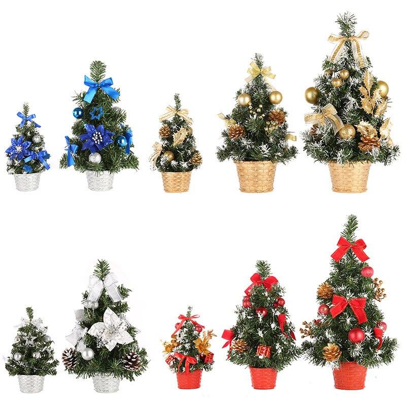 Merry christmas tree bedroom desk toy doll gift christmas tree home mini artificial trees - Small christmas tree ideas ...