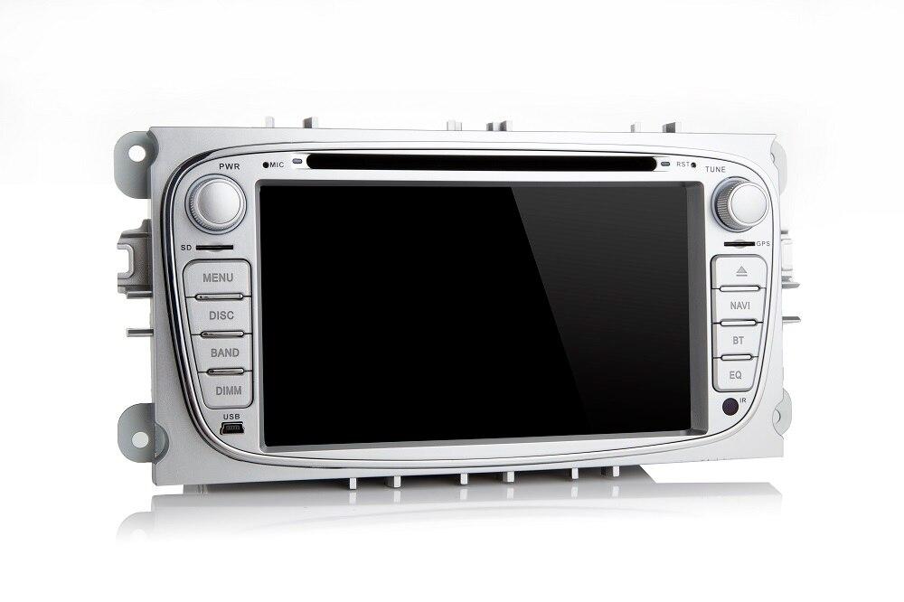 Android 7.1.1 autoradio dell'automobile dvd gps player headunit per ford/mondeo/s-max/c-max/galaxy/focus auto radio stereo tape recorder