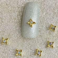 10psc/упаковка украшения для ногтей Белые Бриллианты и ab новый
