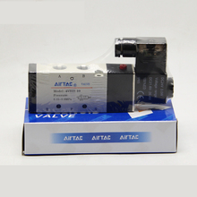 1pcs Pneumatic Airtac Parts 1/4'' BSP Ports 4V310-10 DC 12V 24V AC 110V 220V 2 Position 5 Way Air Solenoid Valve