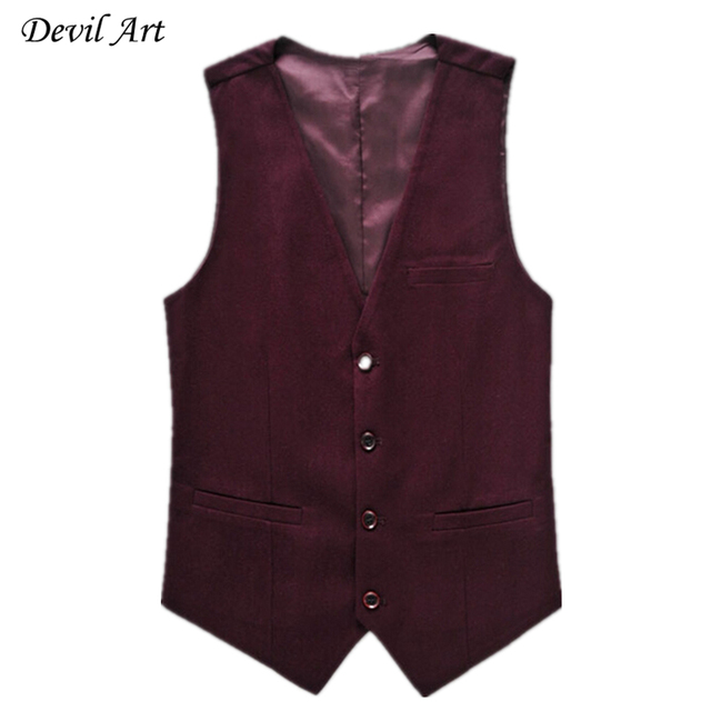 Men Formal Vest Fashion Business Brand Clothing Waistcoat Slim Wedding Suit Vest Blue Waistcoats Free Shipping 520
