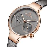 Women Watches Top Brand Luxury Ladies Quartz Watch Female Genuine Leather Thin Wrist Watch Fashion Casual Clock Relogio Feminino