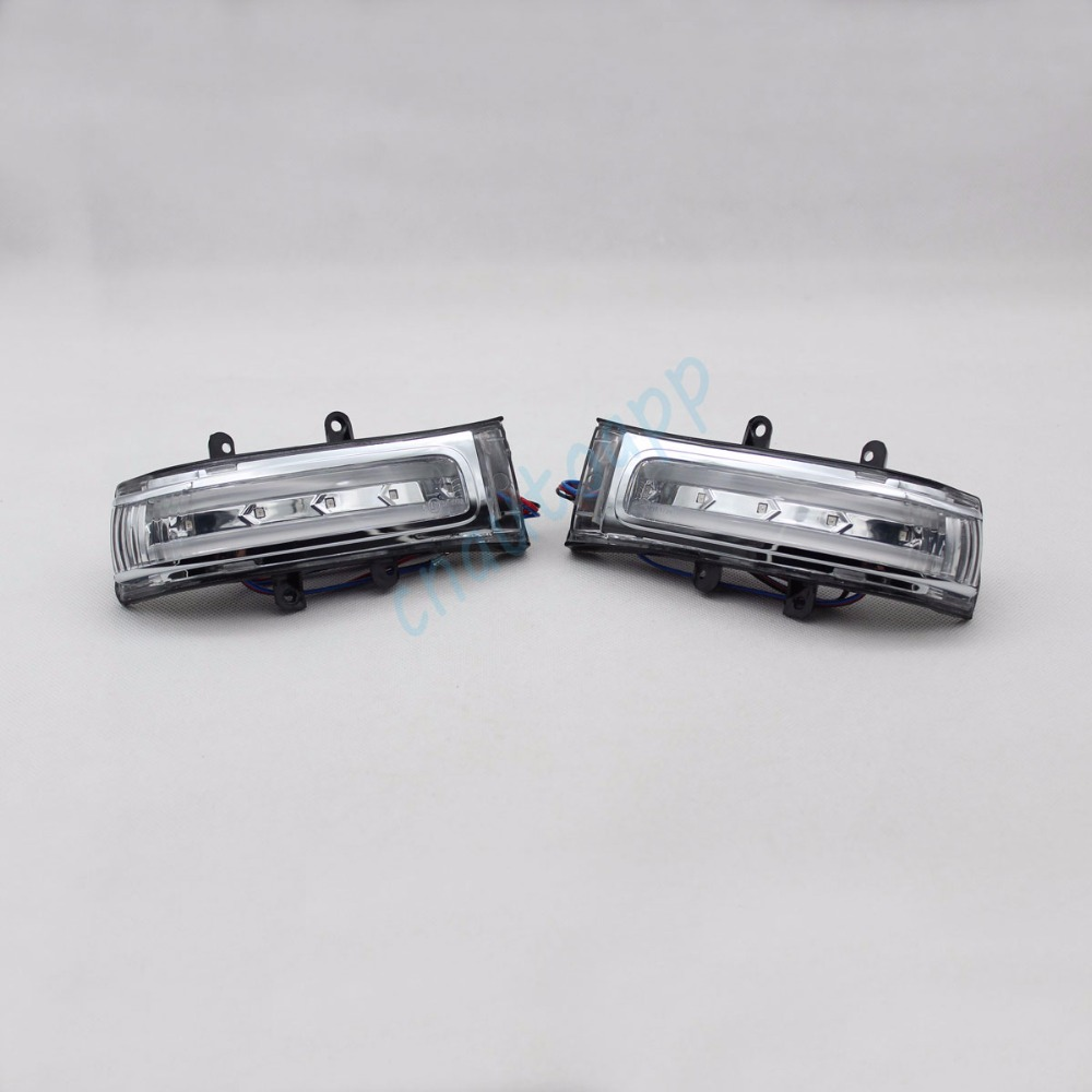 Rear view Mirror LED Light Turn Signals Lights For Toyota Vanguard VOXY RAV4 Highlander Estima Alphard NOAH Previa VELLFIRE 20 eemrke for toyota voxy 2007 2008 2009 2010 2011 2012 2013 side rear view mirror lights led drl turn signals