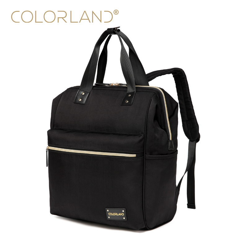 COLORLAND Designer Baby Diaper Bags for Mom Large Capacity Nappy Maternity Bag Backpack Baby Care Bag for Stroller BP124 colorland designer baby diaper bags for mom large capacity nappy maternity bag backpack baby care bag for stroller bp045