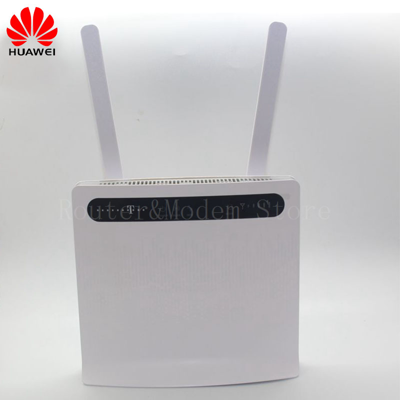Unlocked HUAWEI B593 4G WIFI Router 4G 100Mbps LTE CPE Wireless Gateway Huawei B593u-12 With Antenna lot of 100pcs huawei b593u 12 4g lte wireless cpe router gateway 100mbps wifi hotspot sim card 2pcs b593 4g antenna dhl shipping