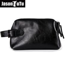 JASON TUTU 2019 New Listing Casual Men bag Clutch wallets purse Unisex