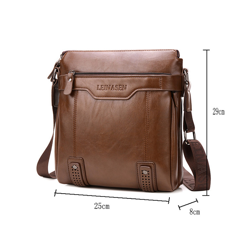dark Degli Qualità Tracolla Borsa Della Bag Designer Piccole light A Alta Crossbody Sacchetto Handgag Borse Affari Famoso Brown Marca Del Black Brown Di Spalla Uomini qFCnwxC54g