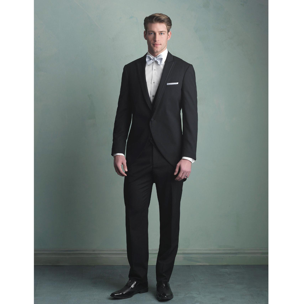Attractive Black Prom Tuxedos Gift - Wedding Dress Ideas ...