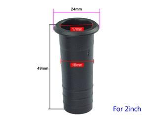 Image 3 - GHXAMP 2 pouces 4 pouces 6.5 pouces haut parleur inversé Tube Port auxiliaire basse Subwoofer ABS haut parleur Guide Tube 2 pièces
