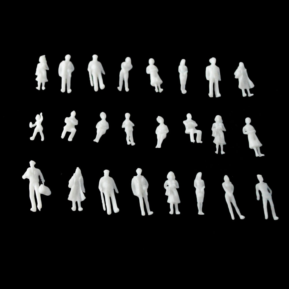 White Unpainted Architectural 1150 Scale Model Figures People For Train Layout Sale In Model Building Kits From Toys Hobbies On Aliexpress Com
