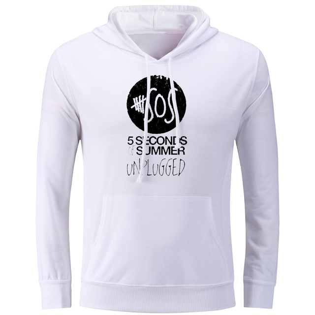 c6624a1f8 iDzn 5SOS Punk Band Unisex Sweatshirts 5 Seconds of Summer Unplugged  Printed Hoodies Men's Hooded Women's Hoody Coat Tops