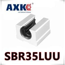 SBR35LUU/sme35Luu SBR35L UU 35 мм вал линейный SBR ЧПУ комплект линейных шарикоподшипник/линейный руководство подшипники