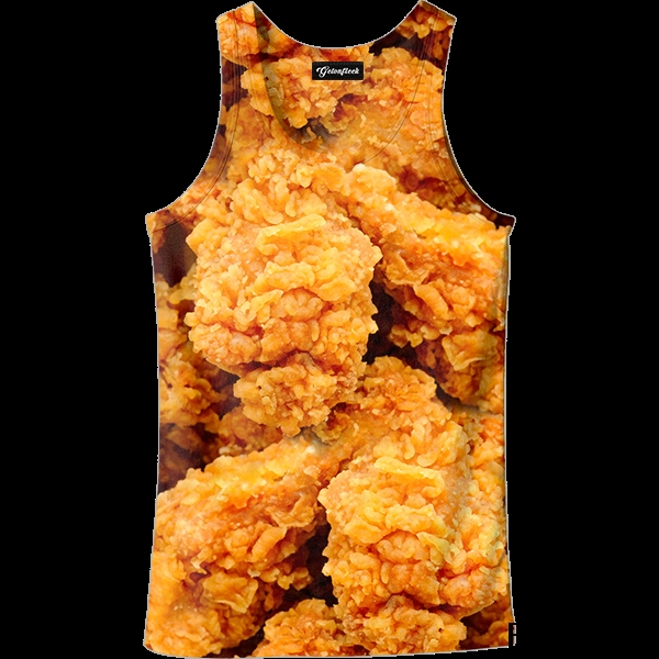 2019 Hot Summer Fashion Fried Chicken Tank Top  3D Printed Hip Hop Vest