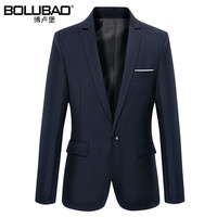 2016 New Arrival Brand Clothing Autumn Suit Blazer Men Fashion Slim Male Suits Casual Solid Color