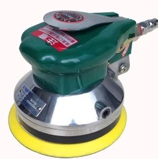 TAIWAN Pneumatic Tools Air Tools 5 Inch Heavy Palm Random Orbital Sander Polisher 125Mm Circle Round Pad KP325A 311 Style 5 inch 125mm pneumatic sanders pneumatic polishing machine air eccentric orbital sanders cars polishers air car tools