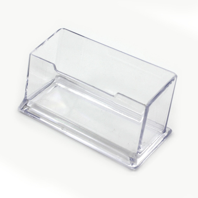 Practical transparent cuboid acrylic desktop business card holder practical transparent cuboid acrylic desktop business card holder display box colourmoves